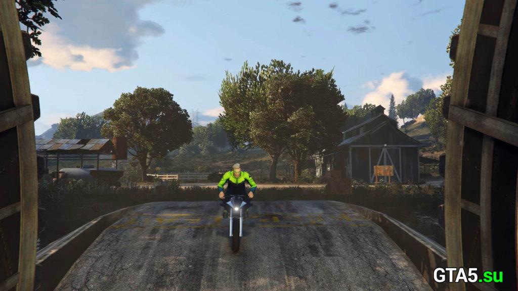 Вход в бункер GTA Online