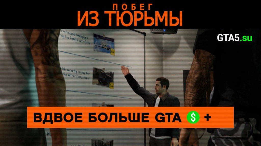 Побег из тюрьмы GTA Online