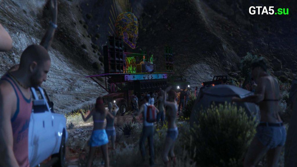 Ночная жизнь GTA Online