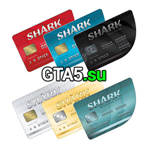 Shark cash card