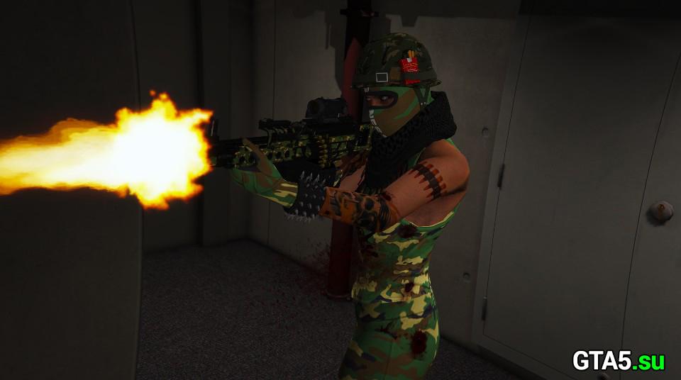 Скриншот ГТА Онлайн ПК