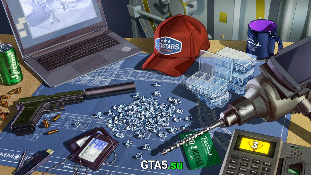 Ограбление казино GTA