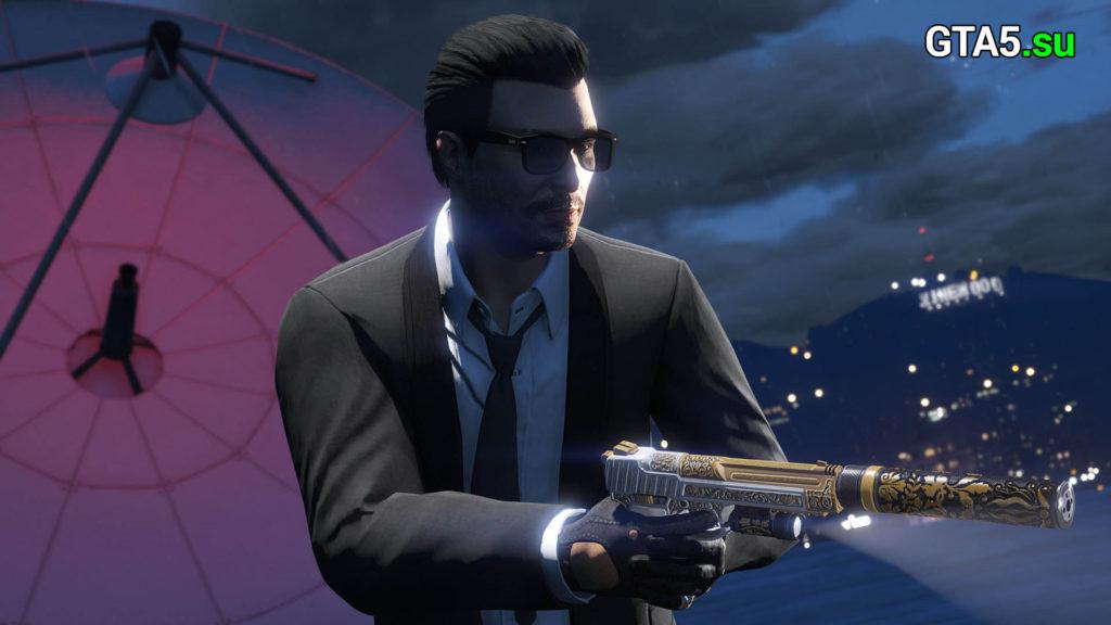 Пистолет GTA Online