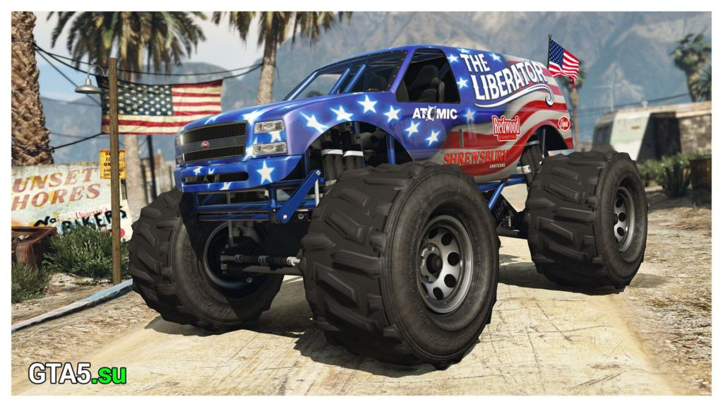 Монстр-трак Liberator