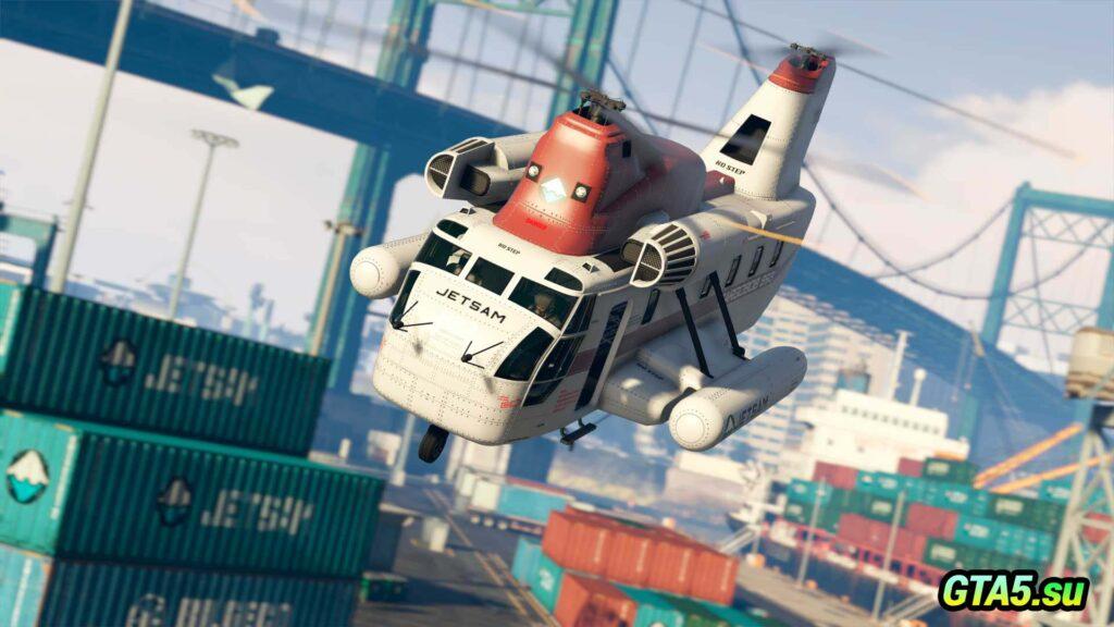Вертолет Cargobob