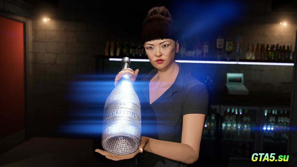 Шампанское в бутылке