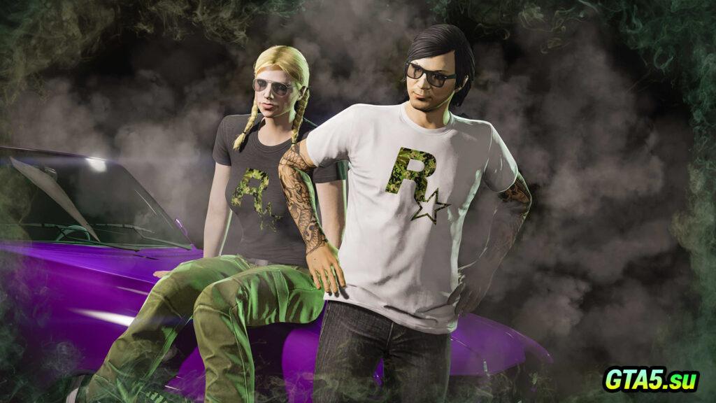 Футболки Rockstar