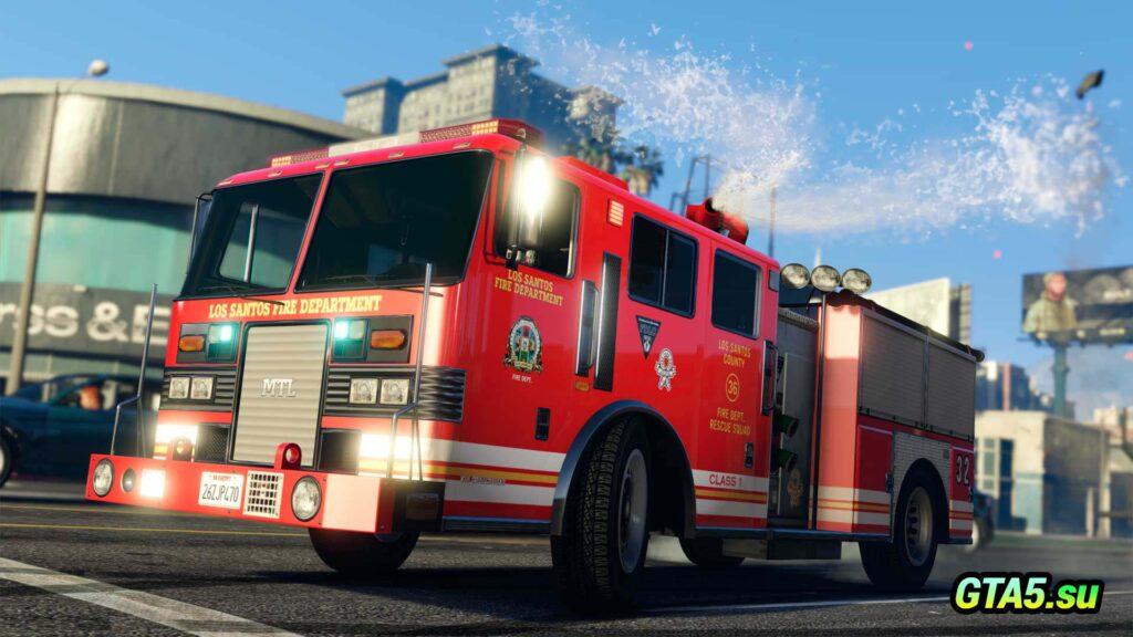 Пожарная машина MTL