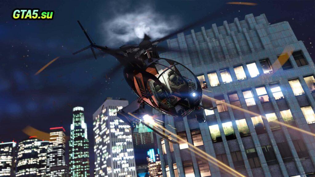 Штурмовой вертолет Nagasaki Buzzard