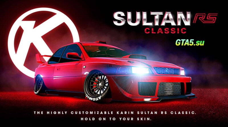 Karin Sultan RS Classic